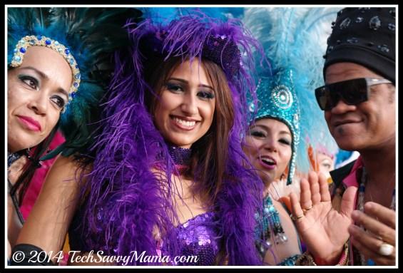 Samba dancers at Rio 2 World Premiere, Miami at Rio 2 World Premiere, Miami