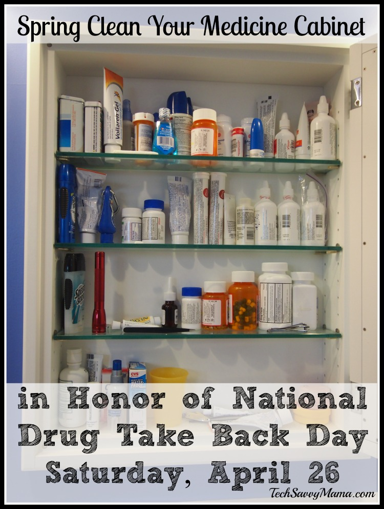 Spring Clean Your Medicine Cabinet In Honor Of National Drug Take Back Day  Saturday, April
