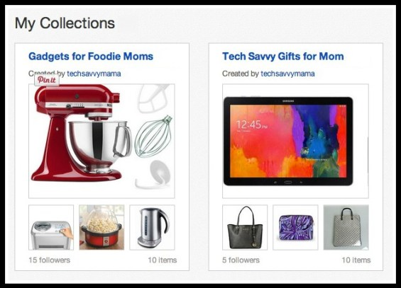 #eBayMom Collections by TechSavvyMama