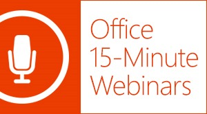 9 Things to Do to Become an Office Power User: Watch Office Webinars