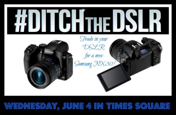 #DitchtheDSLR Samsung #NX30