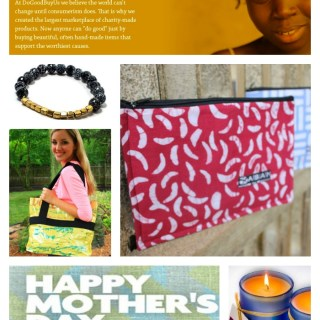 DoGoodBuyUs Marketplace for Affordable Mother's Day Gifts that Do Good