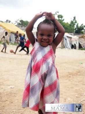 OFEDA Child, Haiti