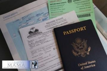 Digitize important travel documents