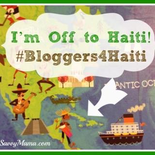 Wheels Up! I'm Off to Haiti #Bloggers4Haiti
