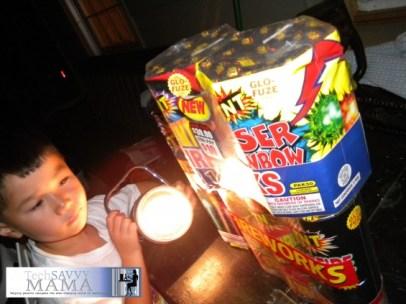 Fireworks and Flashlights