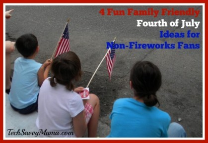 Fun 4th of July Ideas for Non-Fireworks Fans