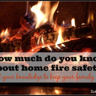Test Your Home Fire Safety Knowledge & Help Me Win Smoke Alarms for My Community