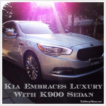 Kia K900 Luxury Sedan