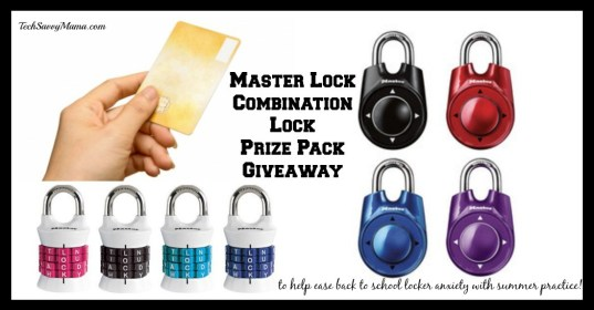 Master Lock Prize Pack Giveaway