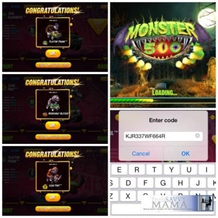 Monster 500 App