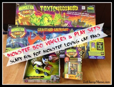 Monster 500 Vehicles and Play Sets