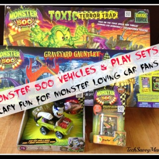 Monster 500 Vehicles and Play Sets Perfect for Monster Loving Car Fans