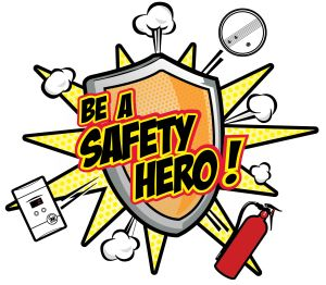 Kidde Be a Safety Hero Logo