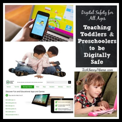 Teaching Toddlers and Preschoolers to Be Digitally Safe