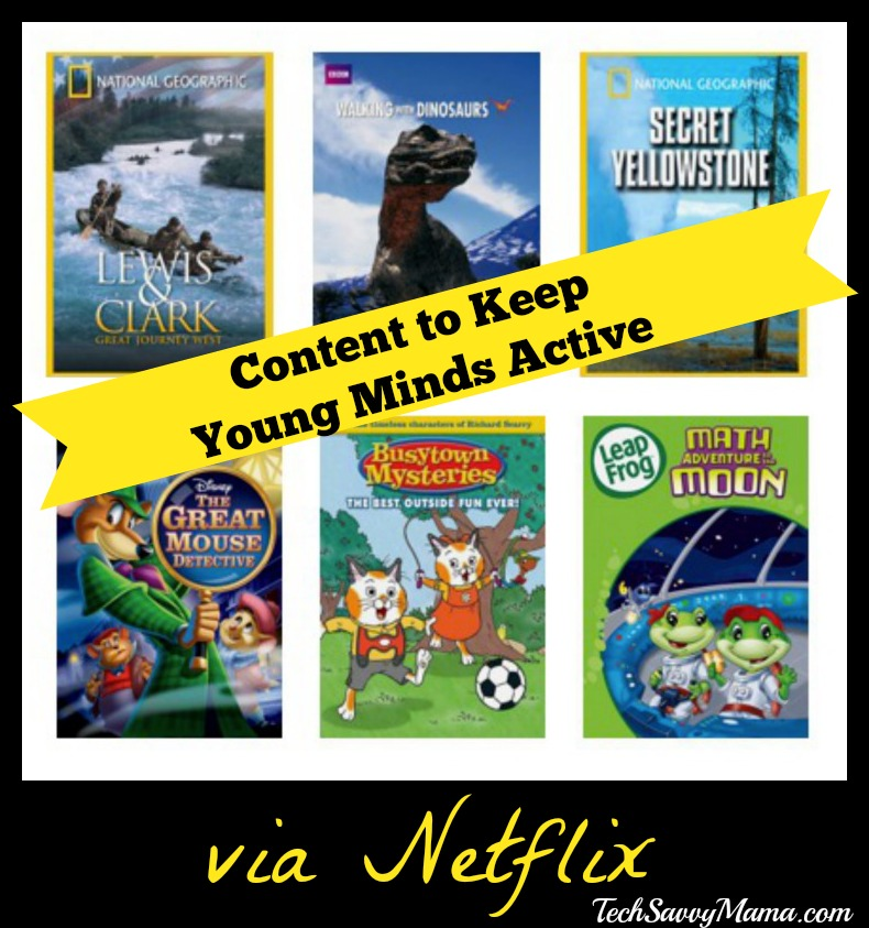 Content to Keep Young Minds Active via Netflix Streaming - Tech