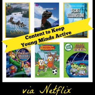 Content to Keep Young Minds Active via Netflix Streaming