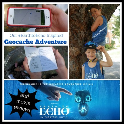 Earth to Echo Geocaching Adventure #EarthtoEcho Movie Review