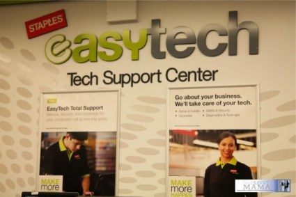 Staples EasyTech Total Support Tech Support Center