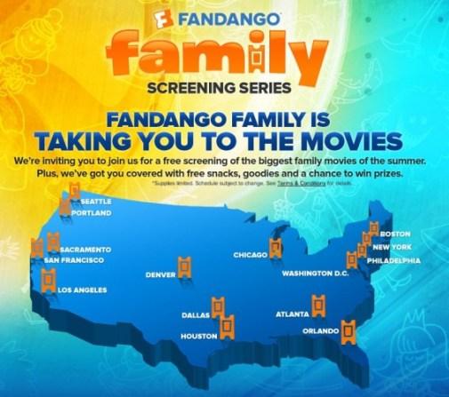 Fandango Family Screening