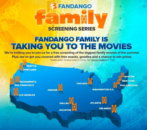 Fandango Family Screening