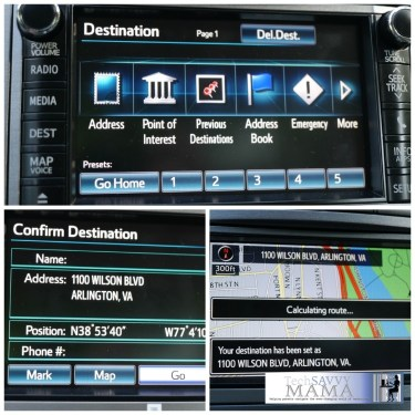 Toyota Venza Navigation Screen