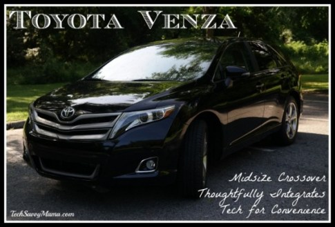 Toyota Venza Review on TechSavvyMama.com