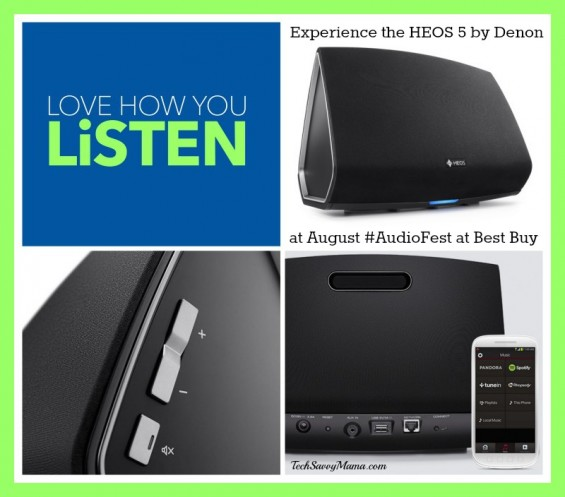 HEOS 5 by Denon at Best Buy for August Audio Fest