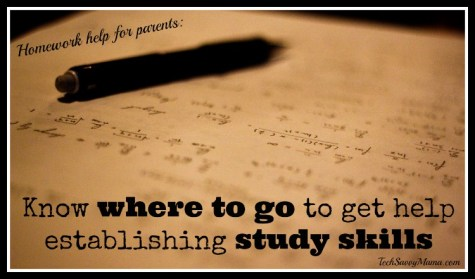 Know where to go to get help establishing good study skills
