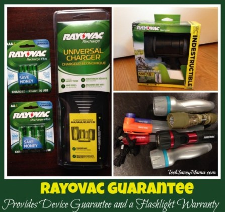 Rayovac Guarantee Provides Device Guarantee and a Flashlight Warranty
