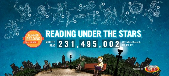 Scholastic Summer Reading Challenge Reading Under the Stars (powered by EVEREADY®)