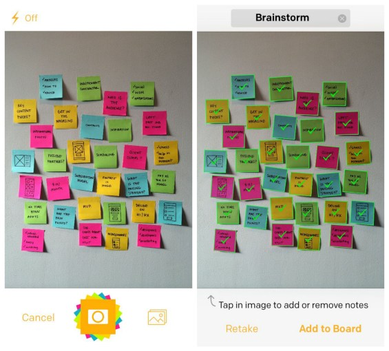 Post-it® Plus App Camera and Capture