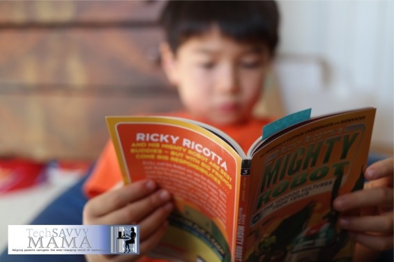 Reading Mighty Robot ©2014 Leticia Barr