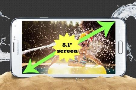 "Samsung Galaxy S5 5.1"" Screen"