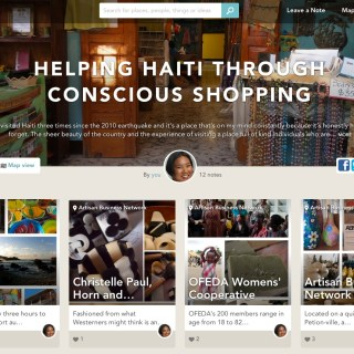 Sharing People and Places I Love in Haiti Through Findery