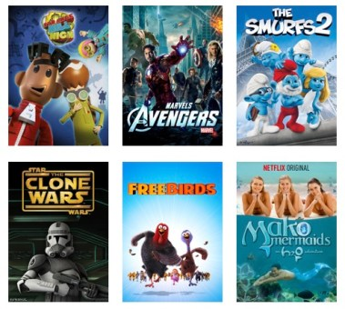 Movies for Elementary Ages to Stream from Netflix