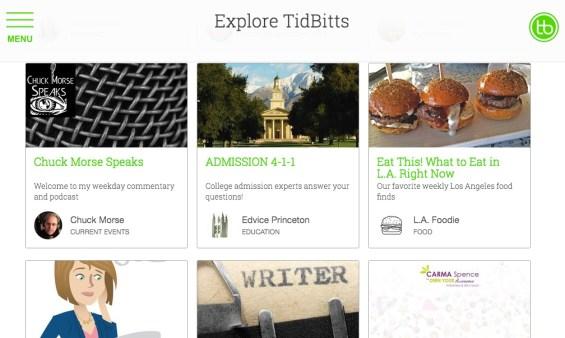 Explore Tidbitts
