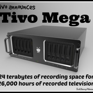 Tivo Announces 24 Terabyte Tivo Mega That Can Store 26,000 Hours of TV