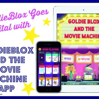 GoldieBlox Goes Digital with GoldieBlox and the Movie Machine Free App