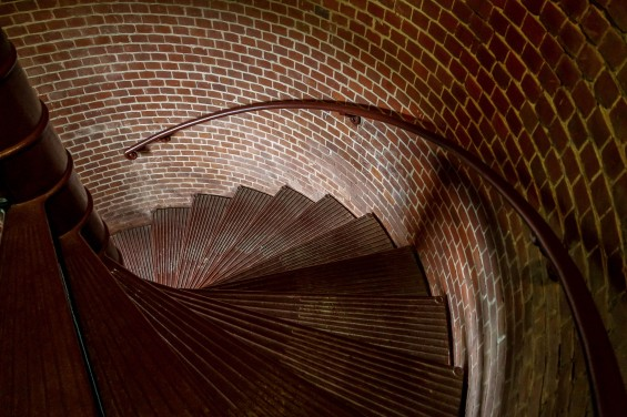 Spiral Stairs inside Assateague Lighthouse