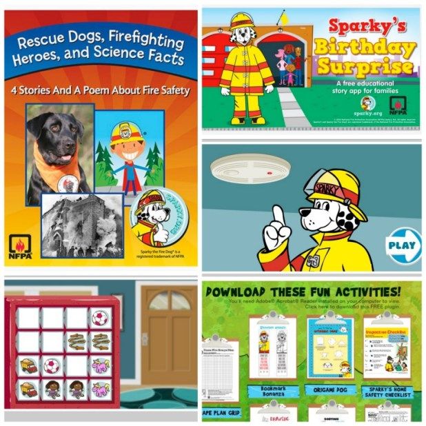 Sparky School House Activities & Resources to Teach Fire Safety
