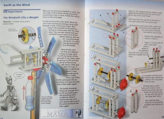 Thames & Kosmos Wind Power Renewable Energy Science Kit Review: Experiment Booklet