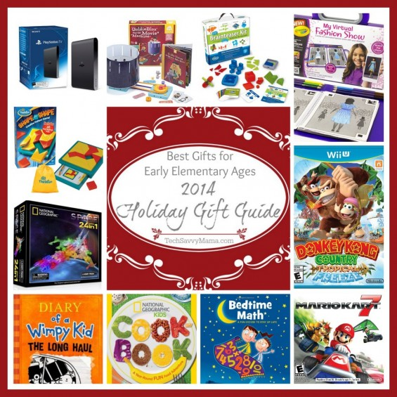 Tech Savvy Mama's 2014 Holiday Gift Guide Best Gifts for Early Elementary Ages (grades K-2)