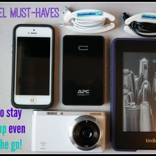 My travel must-haves and how to stay powered up when on the go