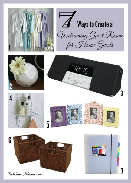 7 Ways to Create a Welcoming Guest Room for House Guests