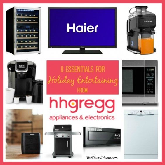 9 essentials for holiday entertaining from HH Gregg