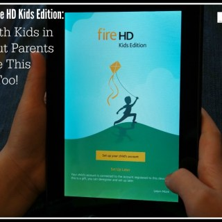 Amazon Fire HD Kids Edition: Built with Kids in Mind But Parents Can Use This Tablet Too