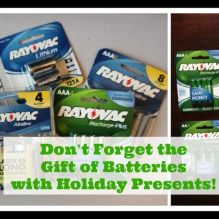 Remember to Give Batteries with Holiday Gifts!
