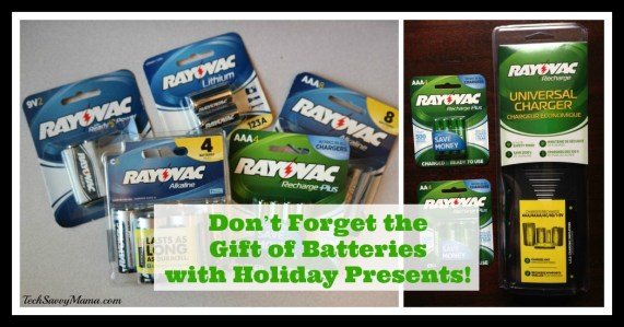 Don't Forget the Gift of Batteries to Go with Holiday Presents