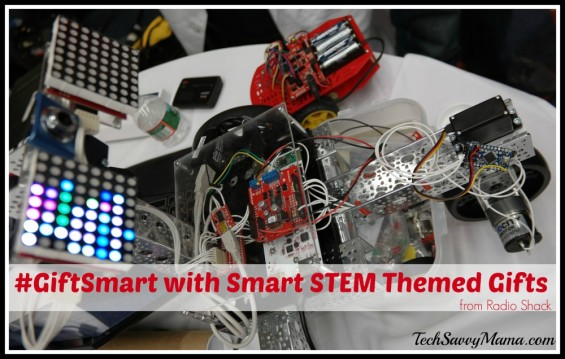 #GiftSmart with Smart STEM Themed Gifts from Radio Shack